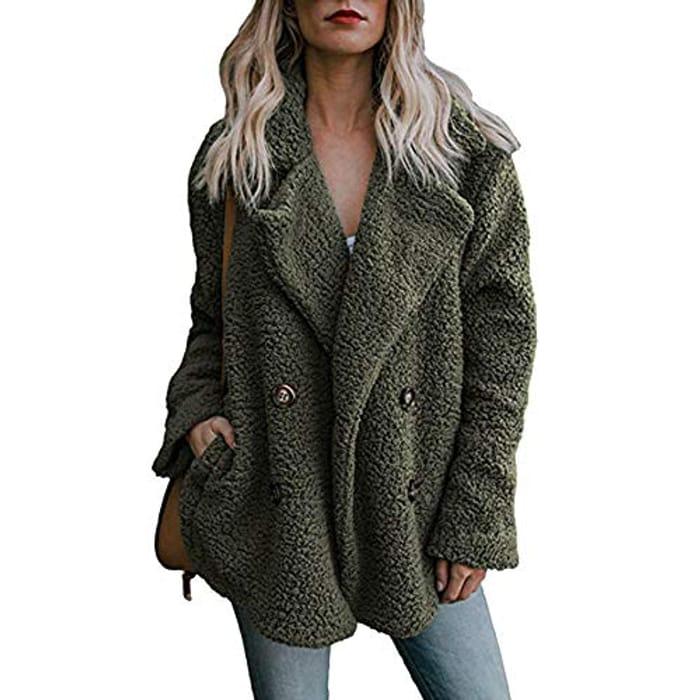 Womens Teddy Coat