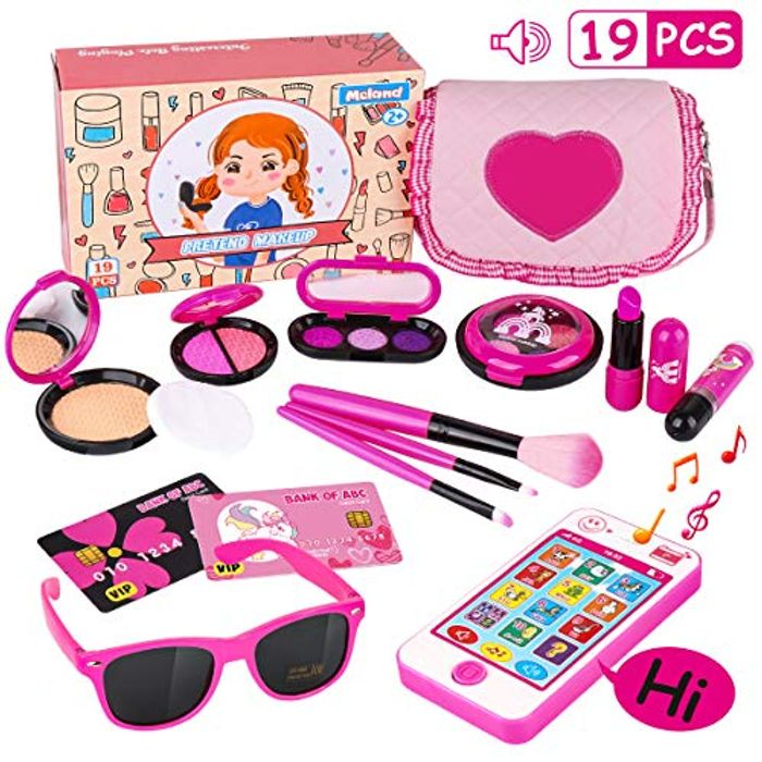 Kids Makeup & Handbag Set