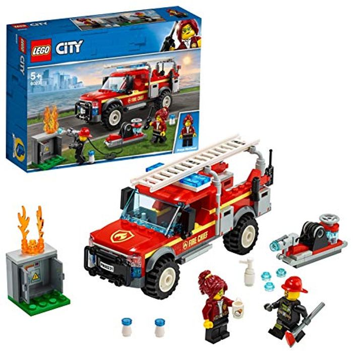 Lego City Fire Set on Sale From £17.99 to £13.99
