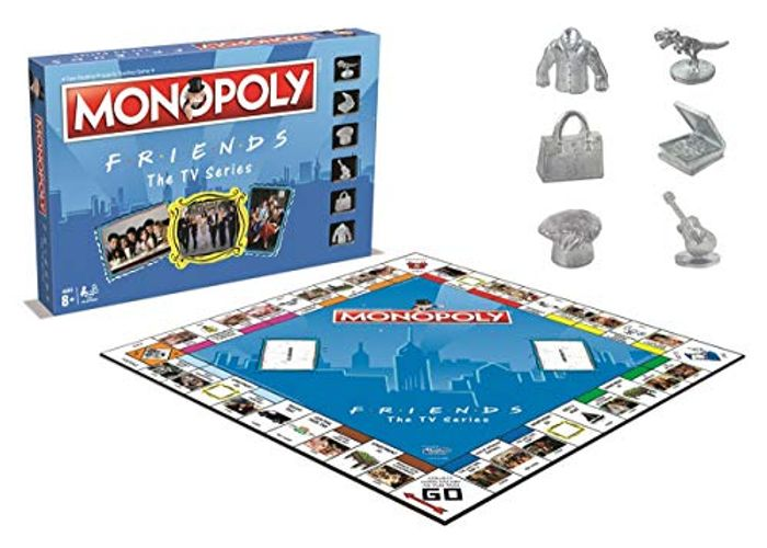 FRIENDS EDITION MONOPOLY - 33% off at AMAZON - *4.9 STARS*