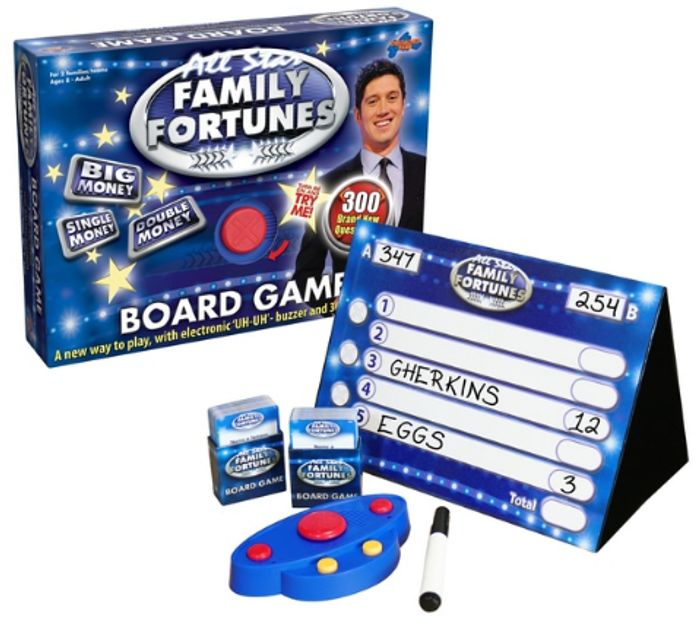 All Star Family Fortunes Game Only £9.99