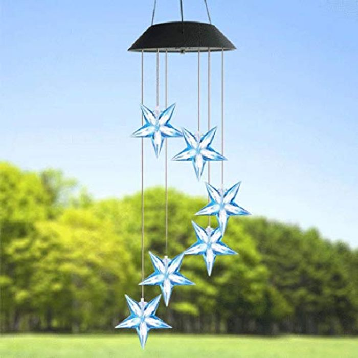 Color Changing Solar Wind Chime 70% off + Free Delivery
