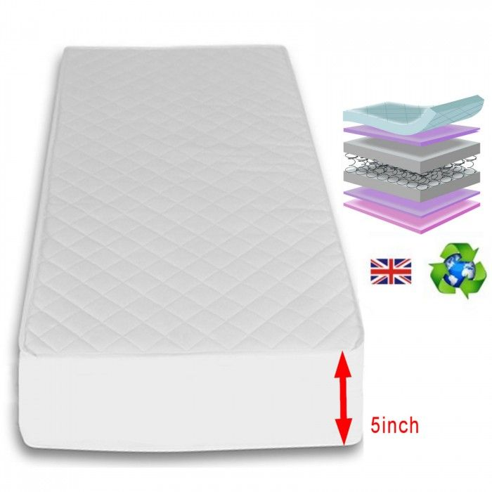 Special Offer - 5 Inch Maxi Air Cool Luxury Cot Safety Mattress 120 X 60cm