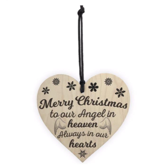 Christmas Angel Plaque - Save £0.31!