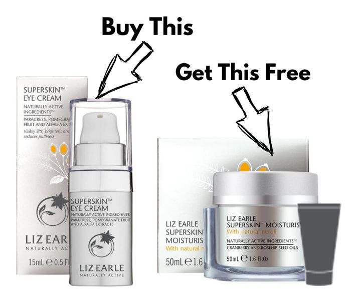 FREE Liz Earle £42 Superskin Moisturiser with £35 Spend + Free Delivery + Sample