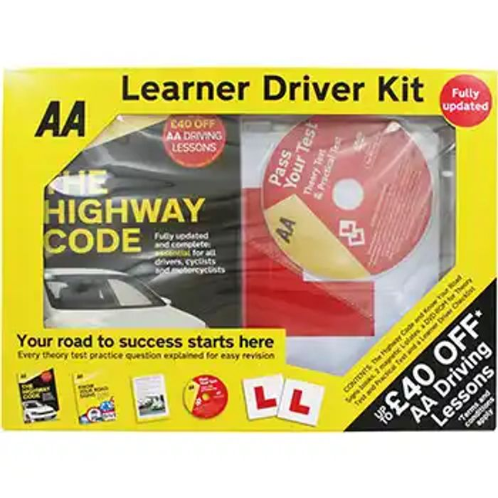 AA Learner Driver Kit - HALF PRICE!