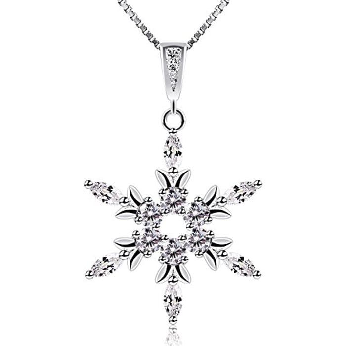 Gorgeous Snowflake Pendant