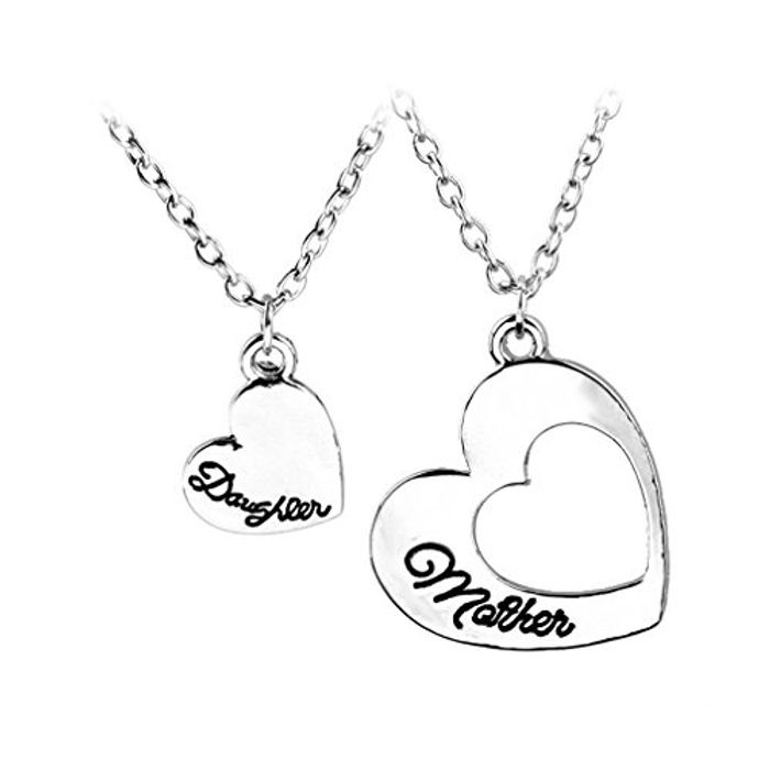 2pc Mother & Daughter Necklace Set