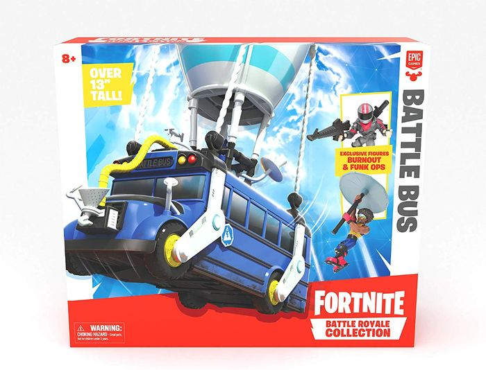 Best Ever Price! Fortnite Royale Collection Battle Bus