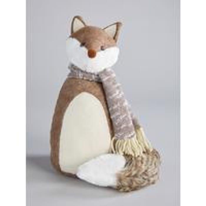 Winter Fox Door Stop Save £7.00
