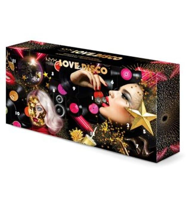 NYX Professional Makeup Love Lust & Disco 12 Day Advent Calendar