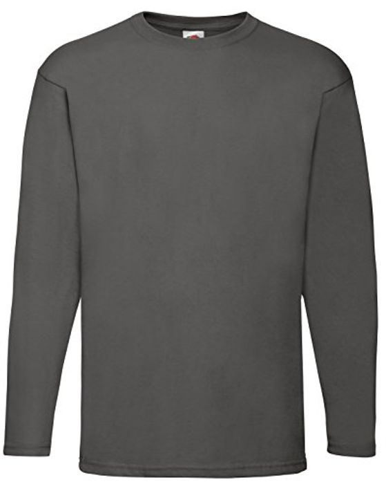 Grey Size M. Long Sleeved Top