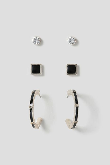 Cheap Muse Stud & Mini Hoop Earrings 3 Pack, with 50% Discount - Great buy!