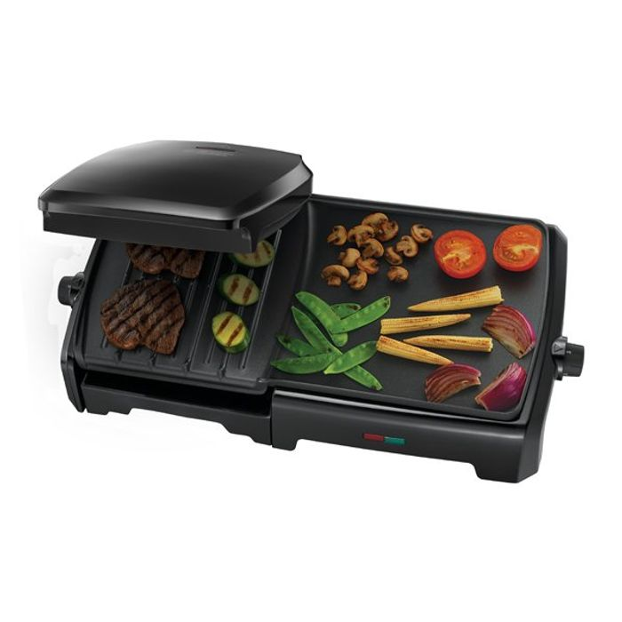 George Foreman Fat Reducing Grill and Griddle 10 Portion with 46.99 Discount!