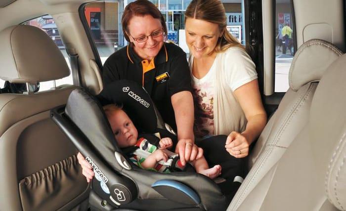 Car Seat Demonstration