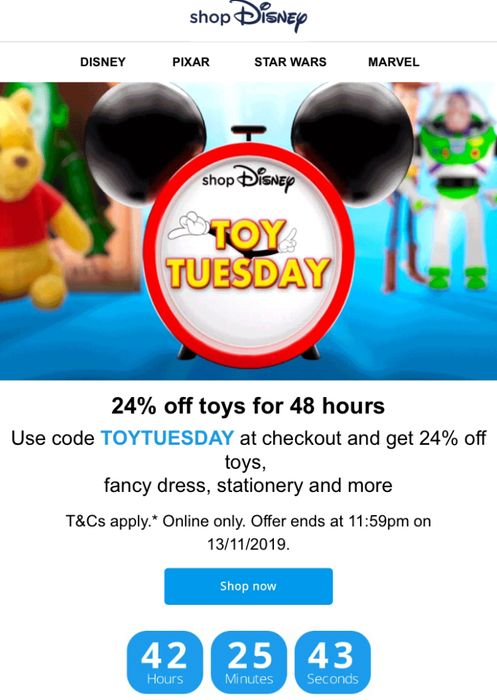 24% off Flash Sale on Selected Toys & Costumes