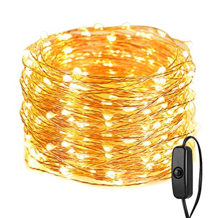 Cheap 200 LED 20 Metres Waterproof String Lights, reduced by £7.4!