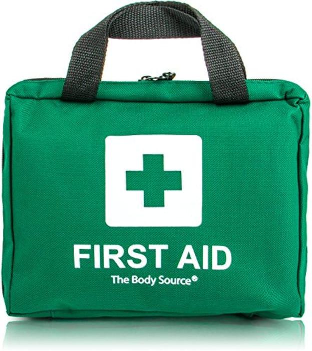 90 Piece Premium First Aid Kit Bag *4.9 STARS*