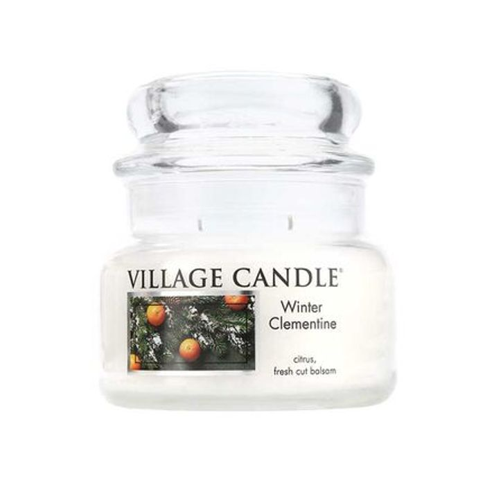 Village Candle Winter Clementine Traditions Candle 310g