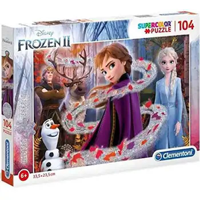 Cheap Disney Frozen 2 104 Piece Jigsaw Puzzle, reduced by £4.99!