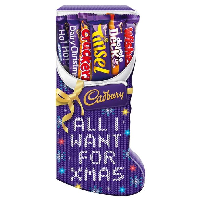 Cadbury Stocking Selection Box 194G - HALF PRICE!