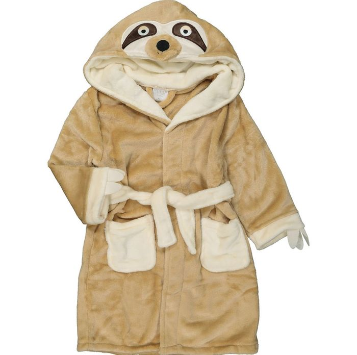 Brown Sloth Robe for Kids