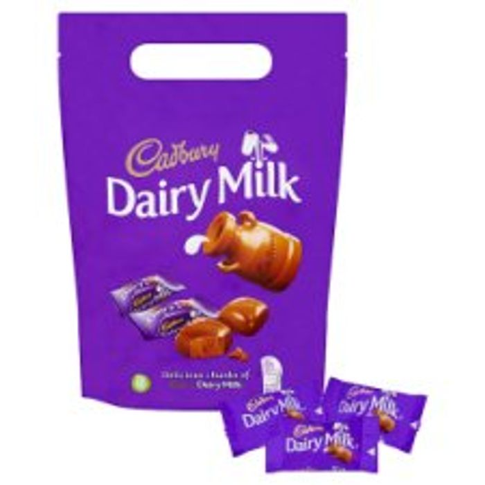 Cadbury Chunks Pouch 380G/ Dairy Milk Wholenut Pouch 350G Toblerone 340G