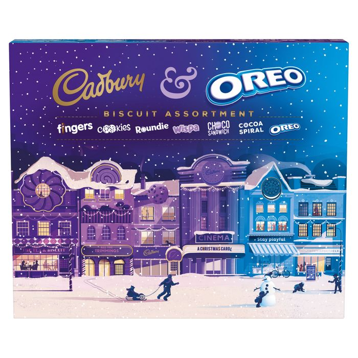 Cadbury Oreo Christmas Biscuit Assortment 500g 3 At