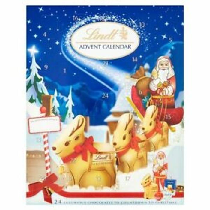 Best Price! Lindt Christmas Countdown Chocolate Advent Calendar