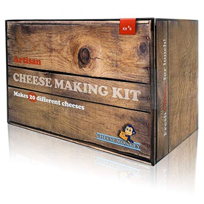 Cheese Making Kit - Make More than 20 Different Artisan Cheeses