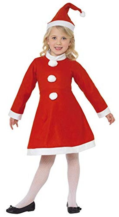 Santa Girl Costume! £4.33 with Free Delivery