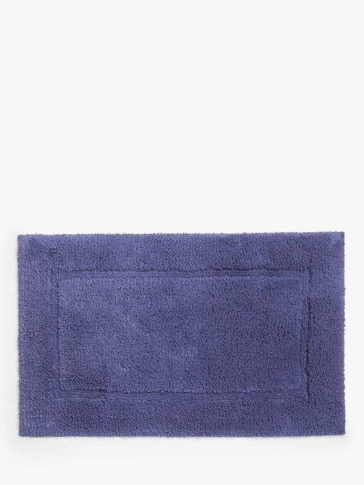 John Lewis Deep Pile Bath Mat with Microfresh Technology