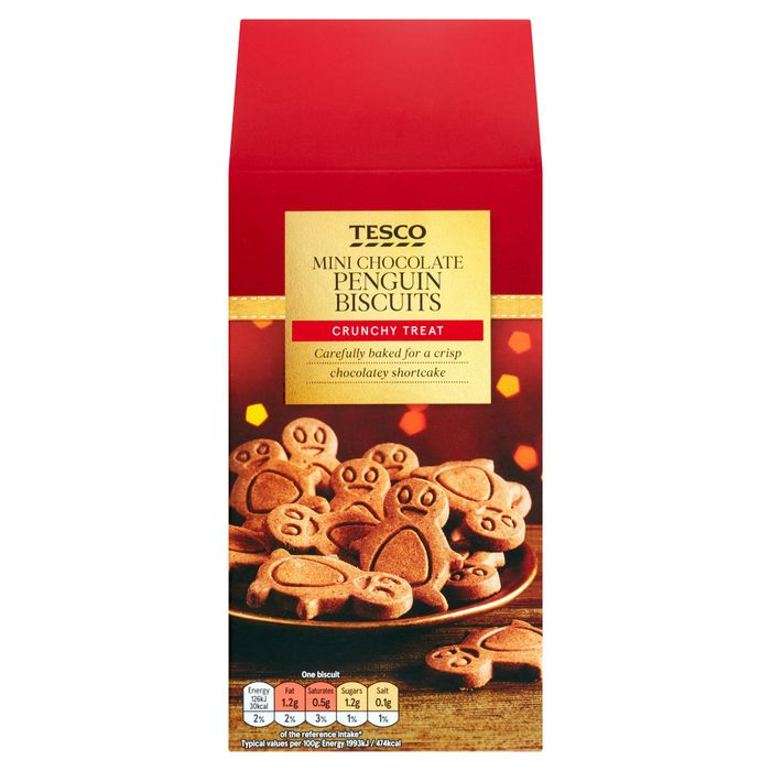 Tesco Mini Chocolate Penguins 100G (2 for £1.50)