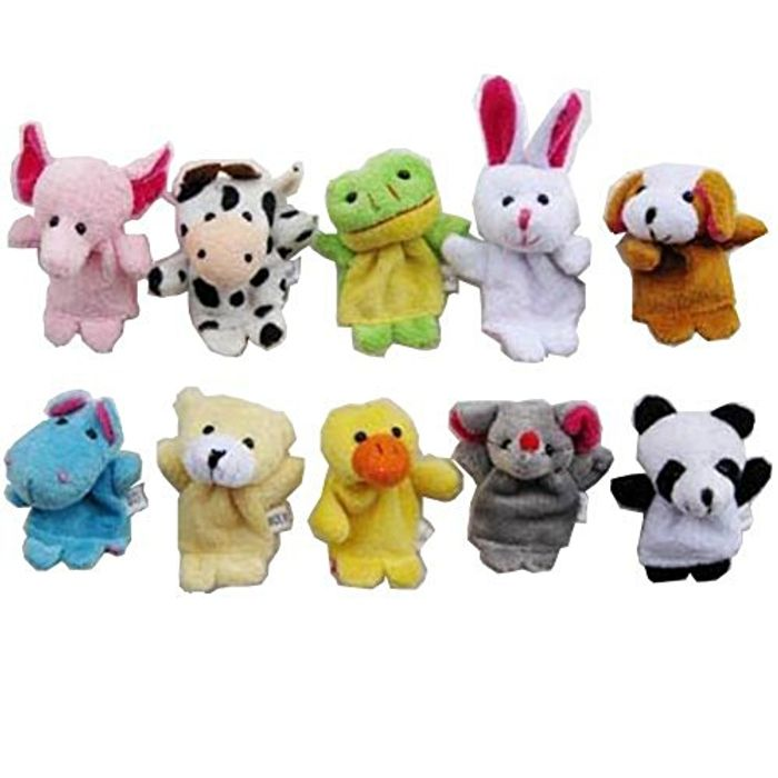 Cute Finger Puppets for Baby - Only £2.72!
