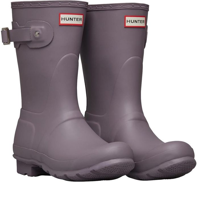 *SAVE £45* Hunter Original Womens Short Wellington Boots Thundercloud