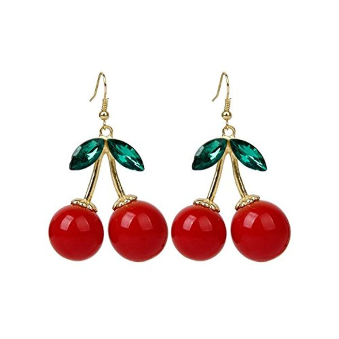 Cheap 1 Pair of Cherry Earrings Christmas Gift, Only £0.83!