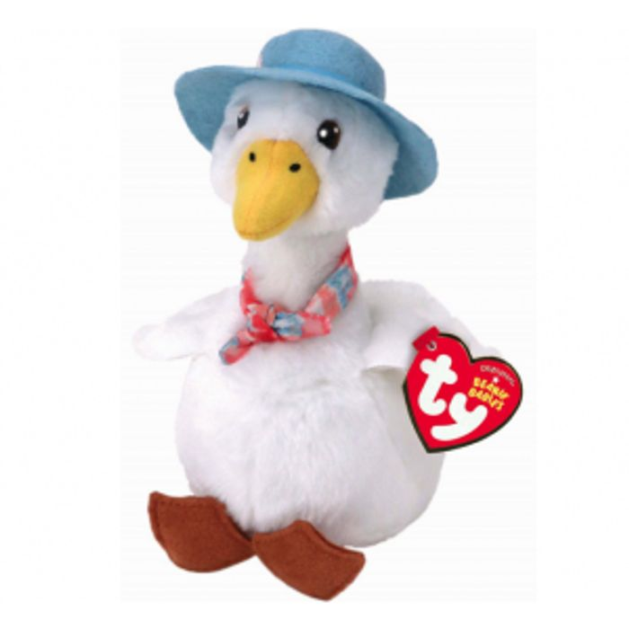 Best Price! TY Beanie Babies - Peter Rabbit JEMIMA PUDDLE DUCK - 20 Cm Toy Plush