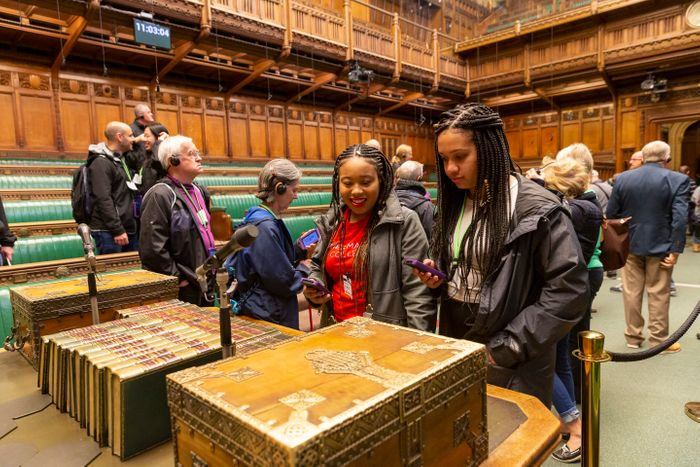 Free Guided or Audio Tours of UK Parliament for All 16-24 Year Olds
