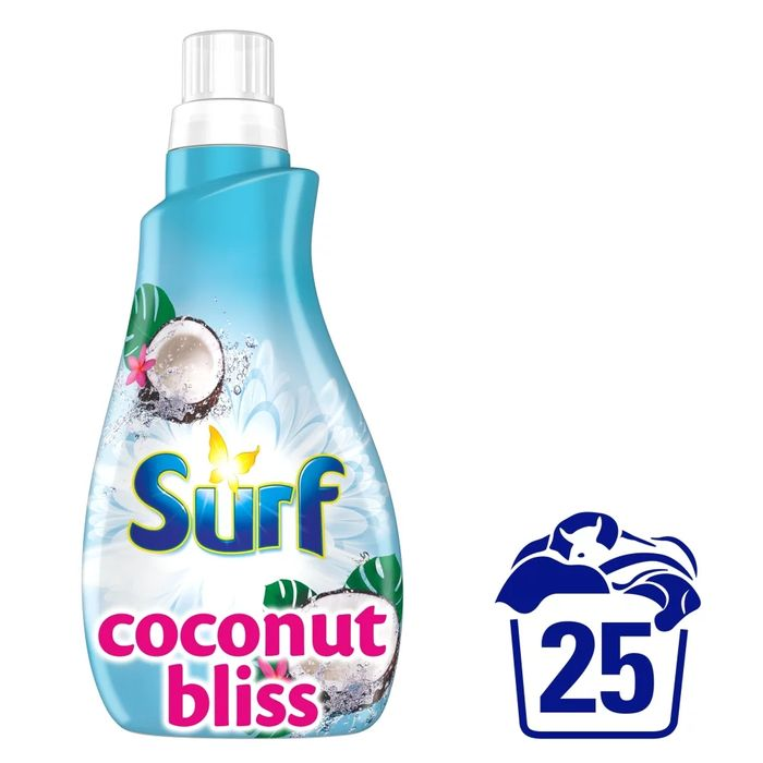 Surf Coconut Bliss Liquid 25 Washes 875ml