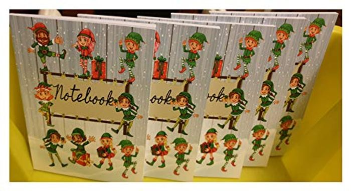 Pack of 5 Elf Notebooks at Amazon - Only £2.45!