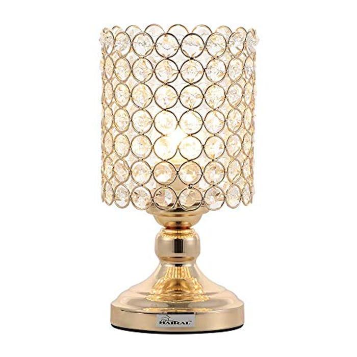 HAITRAL Mini Table Lamp for Night Table