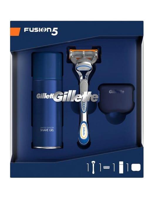 Gillette Fusion 5 Razor, Prep & Cover Gift Set FREE C&C
