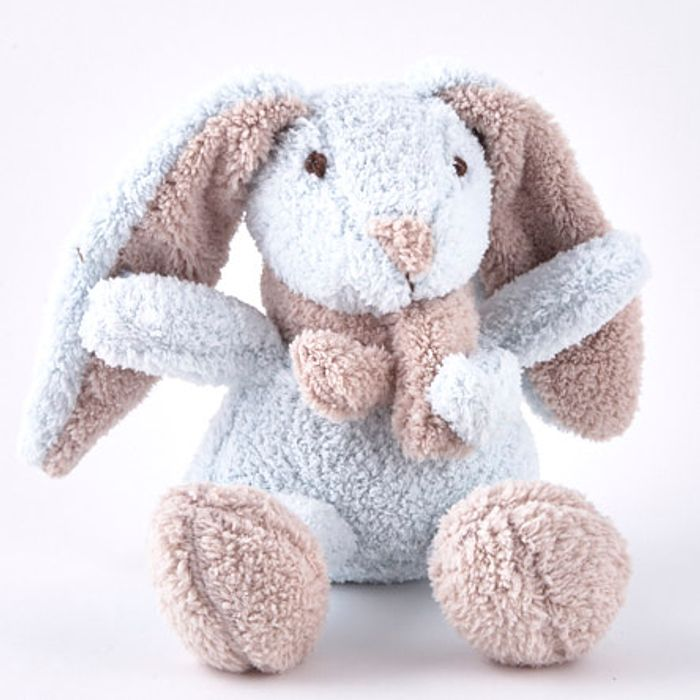 Cheap Tiny Treasures - Blue Rabbit Towel Plushie, Only £1.99!