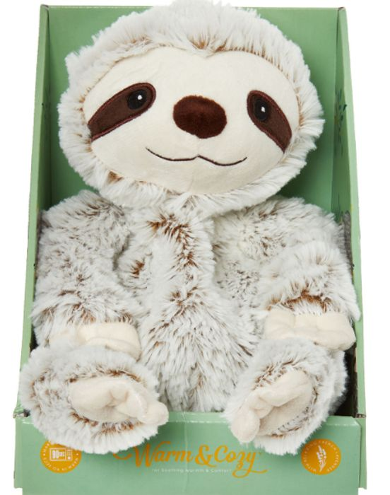 INTELEX Sloth Heatable Soft Toy - Only £9.99!
