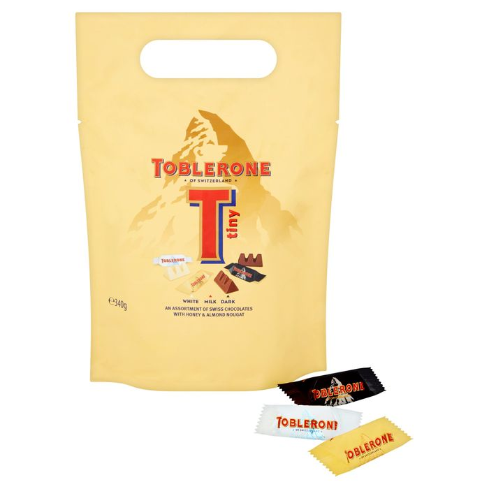 Toblerone Chocolate Pieces 340g 250 At Tesco