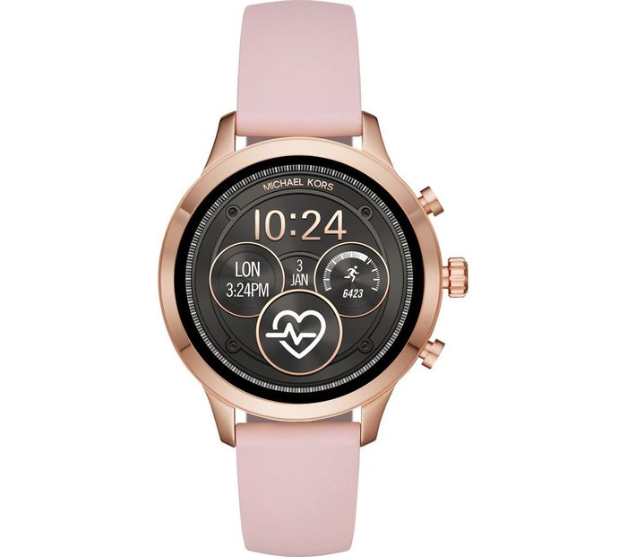 *BLACK FRIDAY DEAL* MICHAEL KORS Access Runway Smartwatch Rose Gold & Pink