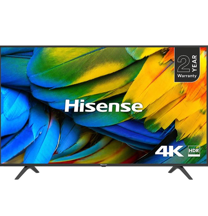 HISENSE 50-Inch 4K UHD HDR Smart TV with Freeview