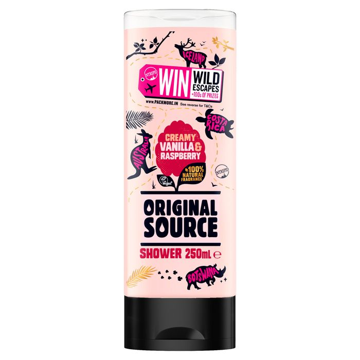 Cheap Original Source Vanilla &R/Berry Shower Gel 250Ml, Only £0.9!