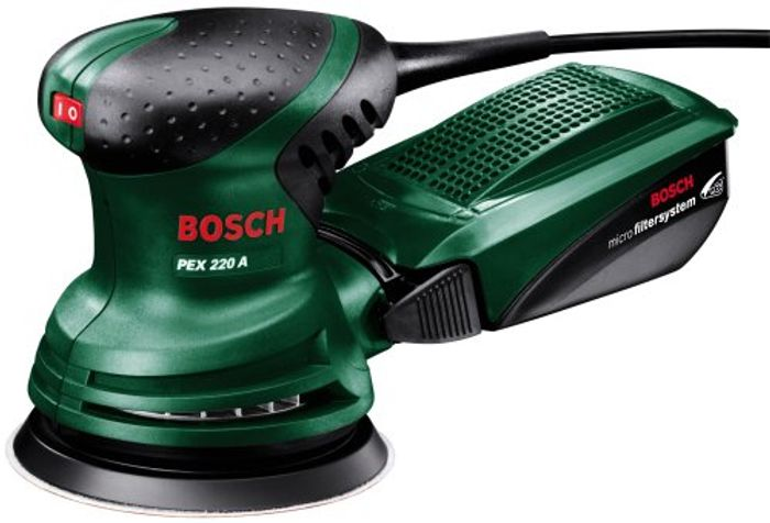 £20 off TODAY! Bosch PEX 220 A - Random Orbit Sander