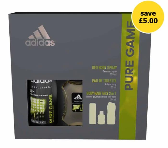Adidas Trip Pure Game Gift Set - HALF PRICE!